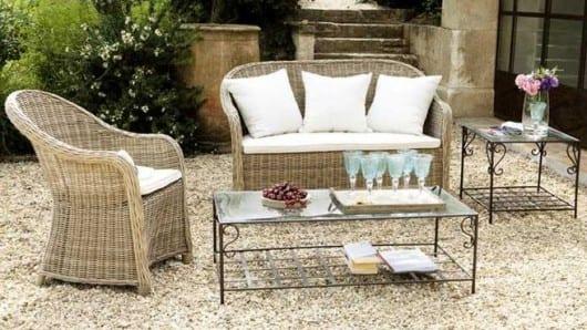 Muebles de jardín atmósfera de Provence