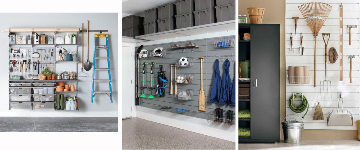 Hay muchos muebles que puedes tener en un garaje