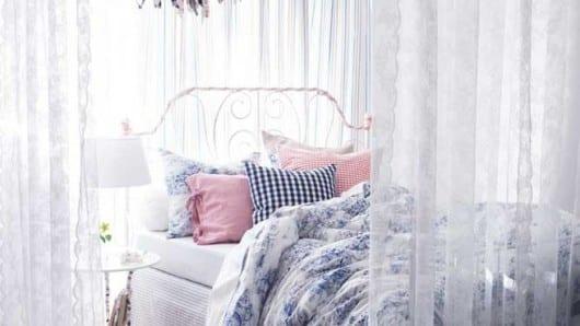 Una habitación blanca