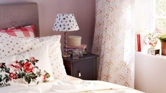 Una habitación de color rosa para la inspiración
