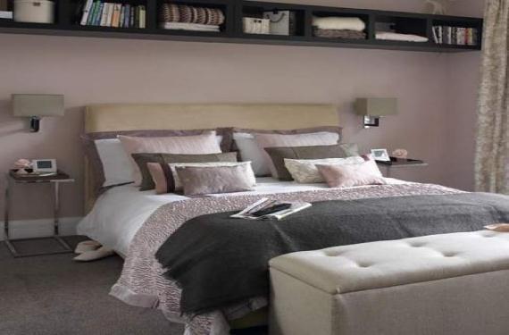 Decorar el dormitorio con cojines