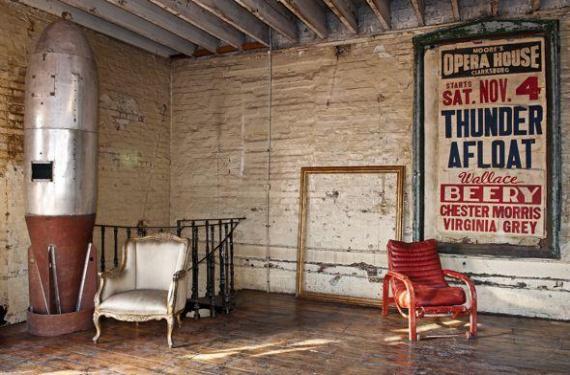 Decoraci n de un loft con estilo vintage for Decoracion oficinas vintage