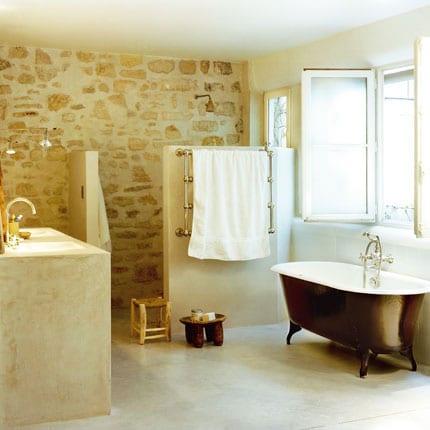 Acabados para las paredes del ba o - Revestimientos en banos ...
