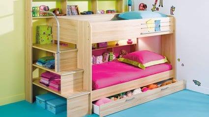 Creación de un dormitorio para tres niños