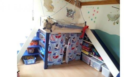 Cuarto de niños marinero