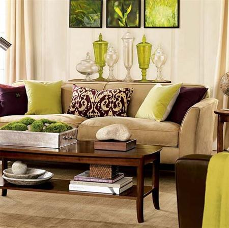 Colores que combinan con el verde muchas ideas decorativas for Decoracion turquesa y marron