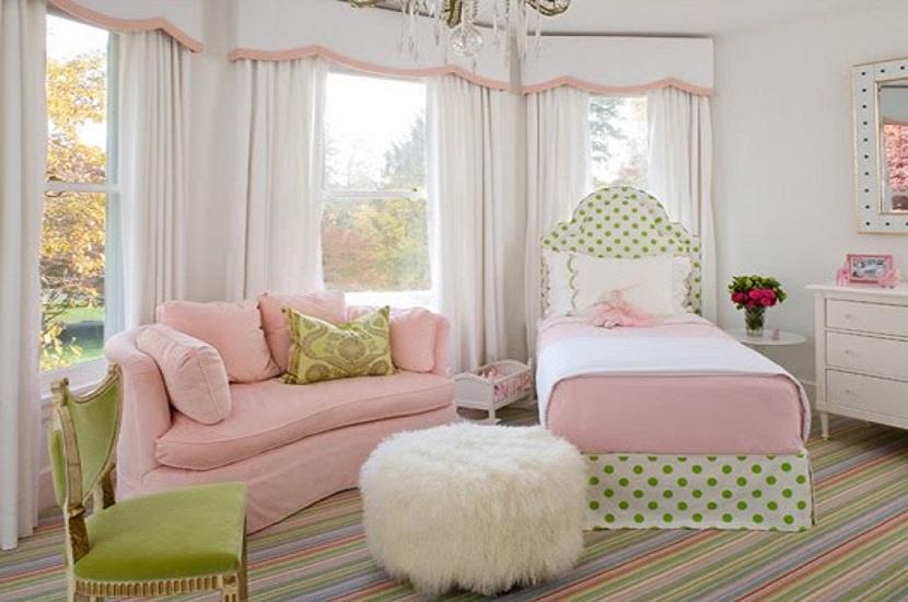 Colores que combinan con el verde en una habitación