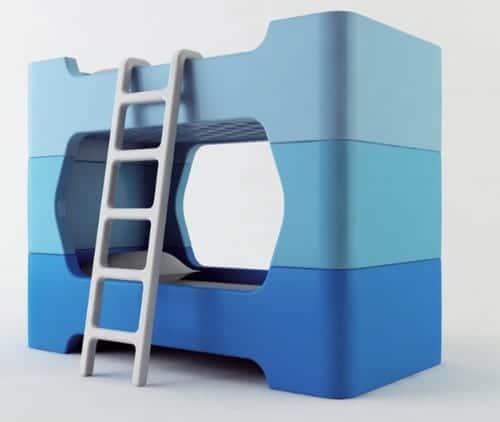 Habitaciones infantiles: Bunky, la cama modular para niños