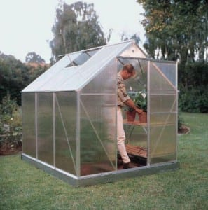 Instalación de un invernadero