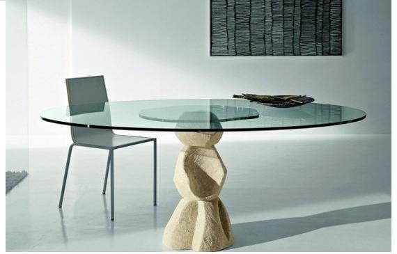 Mesas de vidrio para el comedor for Vidrio para mesa de comedor