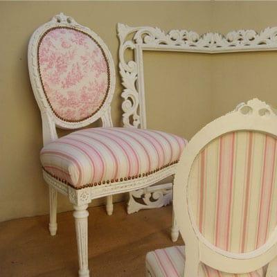 Cambia tu decoraci n pintando y retapizando las sillas - Restaurar sillas antiguas ...