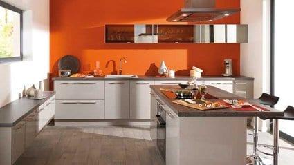 El color naranja para estimular tu cocina