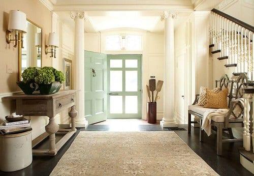 Peque os detalles para decorar un recibidor for Decoracion de recibidores pequenos