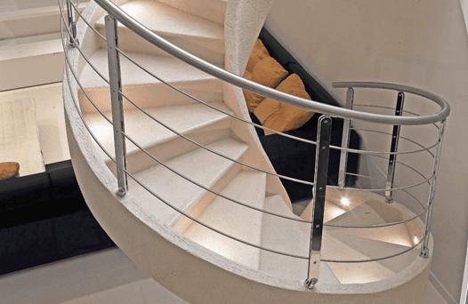 Escaleras en resina