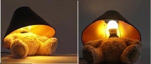 Lámparas infantiles de osos de peluche
