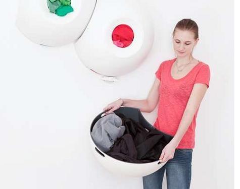 Lavadero: cestas de ropa de diseño