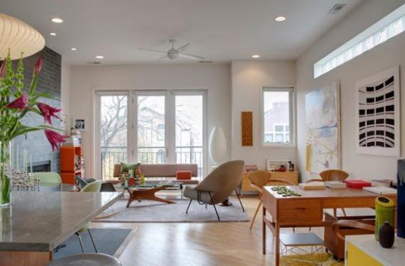Diseñar la sala de estar para lograr un ambiente luminoso