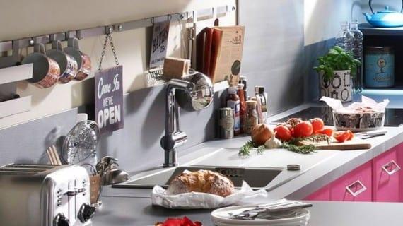 Los puntos fuertes de una pequeña cocina