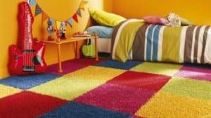 Moquetas multicolores