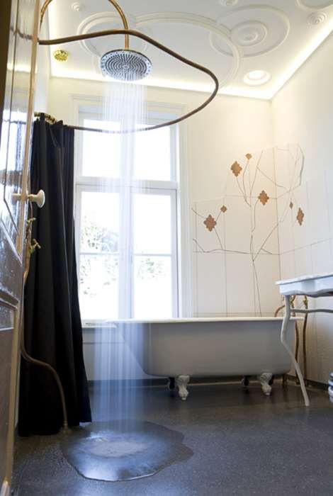 Dise ar un cuarto de ba o con estilo vintage - Disenar cuarto de bano ...