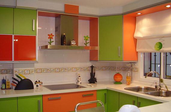 ¿De qué color pintarás tu cocina?