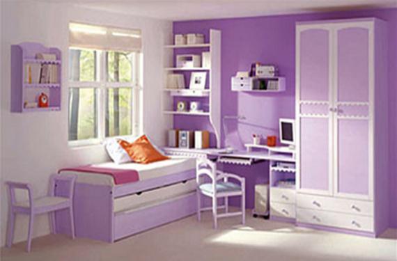 Decorar un dormitorio infantil con un solo color