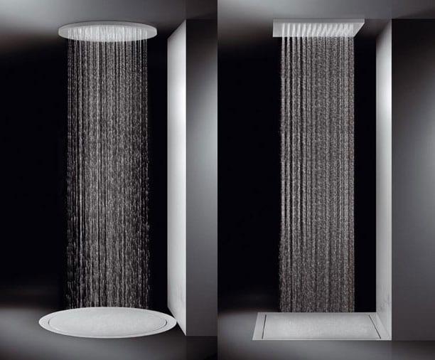 Tipos de duchas for Duchas disenos modernos