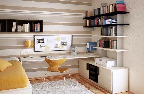 Muebles ideales para habitaciones peque as - Escritorios para habitaciones pequenas ...