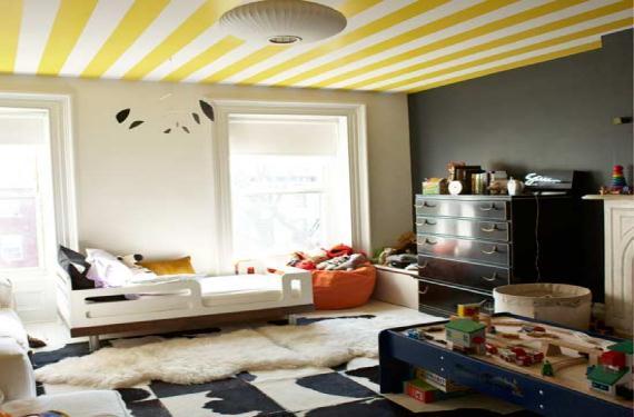 Consejos para pintar el techo de moda