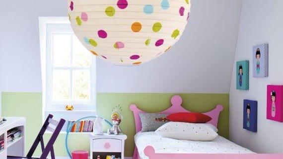 Tendencia en lámparas de techo para niños
