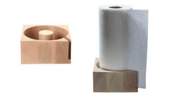 Portarrollos para papel de cocina