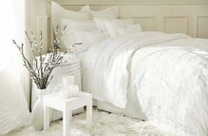 Como decorar un dormitorio blanco