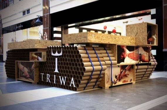 "Actual pop up Store ""low cost"" de Triwa en Polonia"