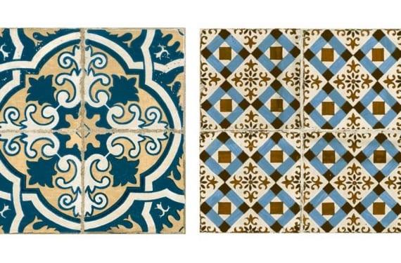 Azulejos de la colección cerámica FS creada junto a la azulejera Peronda
