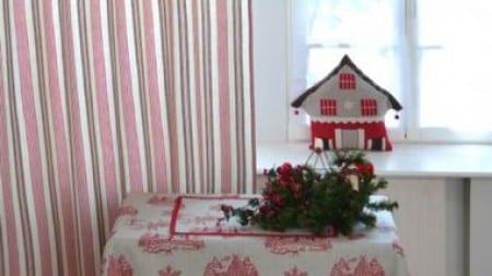 Cortinas para establecer el espíritu navideño