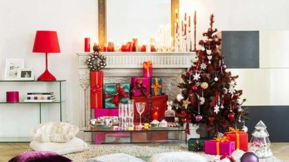 Navidad en todas las habitaciones de la casa
