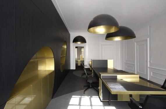 Despacho ejecutivo en las oficinas de Allcapital en Amsterdam