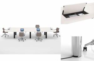 Sistema de trabajo Kuubo, diseño de Naoto Fukasawa para Vitra