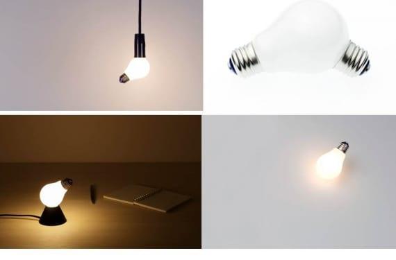 Light bulb lamp creada por la empresa de diseño 100%