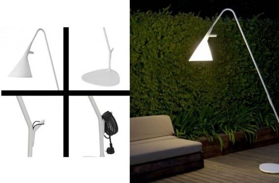 Lámpara de exterior Mate propuesta por Metalarte
