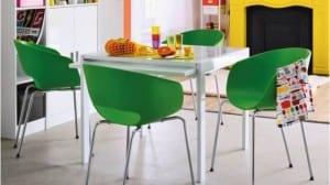 10 comedores para espacios pequeños