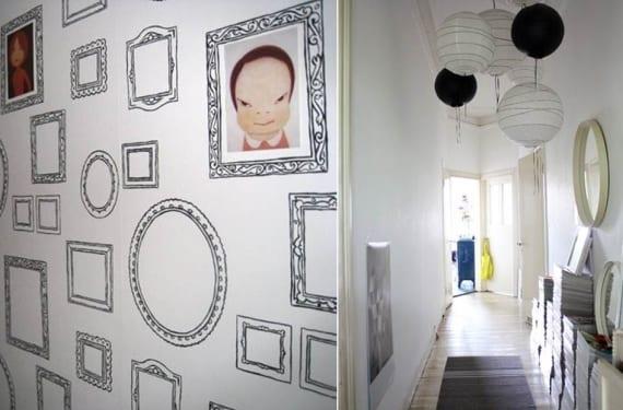 Pasillos decorados con espíritu juvenil