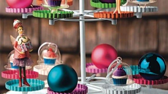 Decoración de mesa de Navidad deliciosa