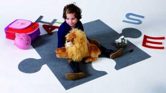 Alfombras divertidas y originales para niños