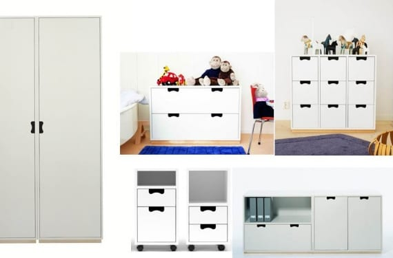 Colección de almacenaje Snow de la firma sueca Asplund