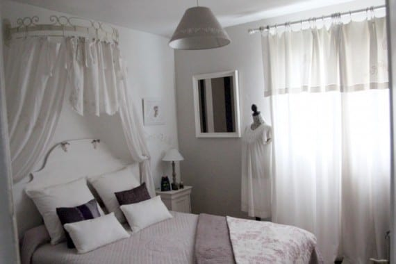 Idea de decoración: estilo romántico y barroco