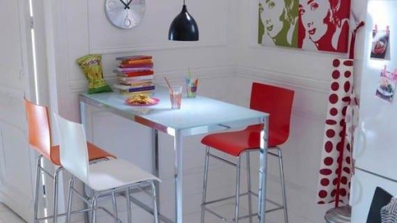 10 comedores para espacios peque os - Comedores pequenos para apartamentos ...