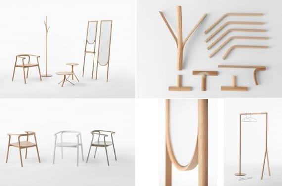 Colección de muebles Splinter para Conde House