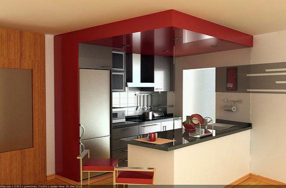 Cocinas americanas una soluci n para pisos peque os for Modelos de muebles de cocina para espacios pequenos