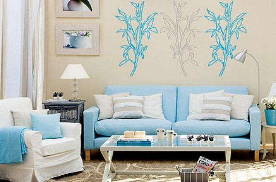 Cómo decorar un salón relajante